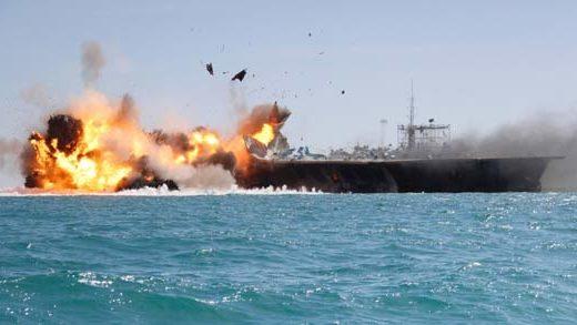 iran-blows-replica-us-warship-warning-new