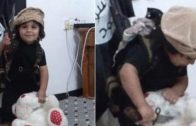 new-stomach-churning-video-shows-an-isis-toddler-practicing-beheading-on-his-stuffed-teddy-bear