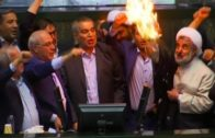 democracy-in-action-iranian-politicians-burn-us-flag-in-parliament